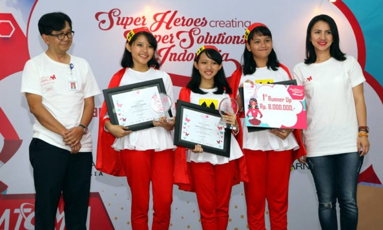 juara 2 tingkat nasional Loreal Sciece Girl Competition tahun 2015
