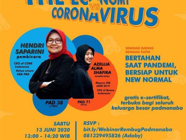 """Rembug Padmanaba - """"The Economy Vs Coronavirus"""""""